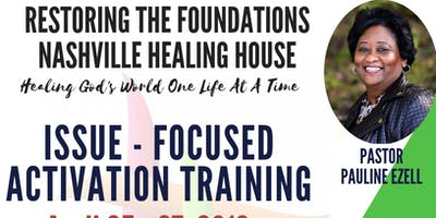 Issue Focused Activation Training 4/25/19