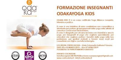 Formazione OdakaKids: Yoga per Bambini e Adolescenti a Verona