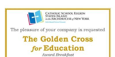 The Golden Cross for Education Award Breakfast