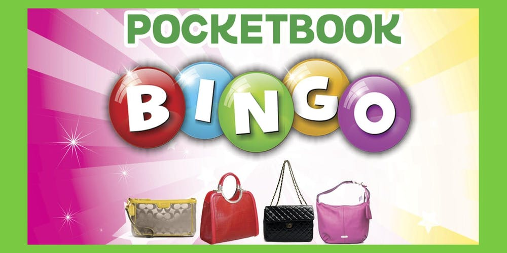 a5db6a31ec Designer Pocket Book Bingo BRUNCH Tickets