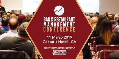BAR & RESTAURANT MANAGEMENT Conference