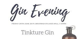The Juniper Club Gin Evening - Tinkture Gin