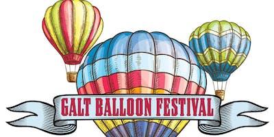 2019 Galt Balloon Festival  August 10 & 11, 2019