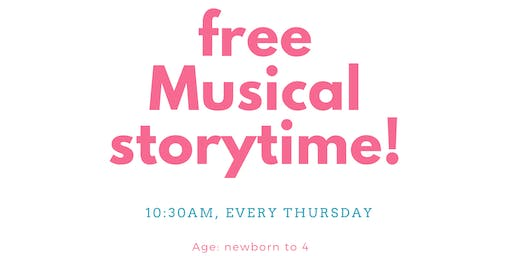 FREE Musical Storytime