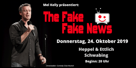 The Fake Fake News - 24. Oktober 2019 - der international satirische Rückblick Tickets