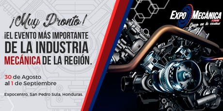 ExpoMecánica Honduras 2019 entradas