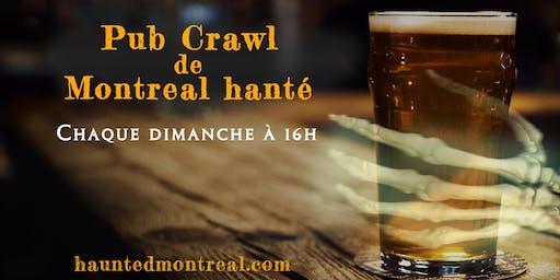 Pub Crawl de Montréal hanté