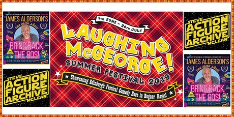 Laughing McGeorge Comedy Festival - Steve McClean & James Alderson tickets