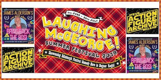 Laughing McGeorge Comedy Festival - Steve McClean & James Alderson
