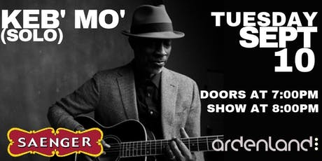 Keb' Mo' (Solo) tickets