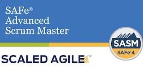 SAFe 4.6 Advanced Scrum Master (ASM) Certification Training tickets