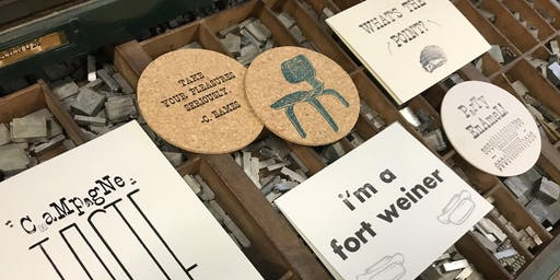 Letterpress Printing - for the FOODIES