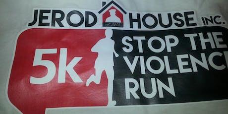 J4J 5th Annual STOP THE VIOLENCE 5K walk/run tickets