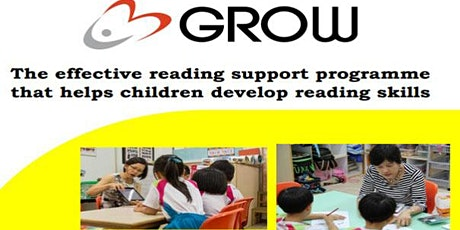 GROW Reading Support Singapore (Parents with Kids 5 to 7 years old) tickets