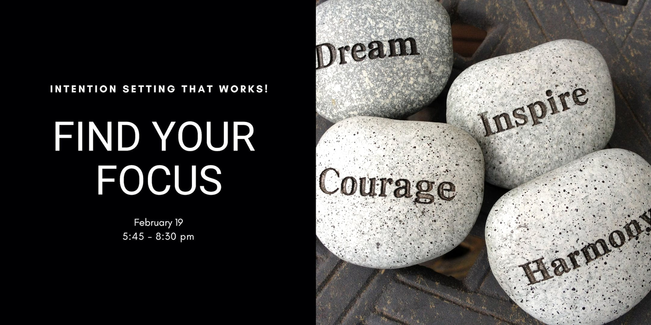 Find Your Focus - Intention Setting Workshop