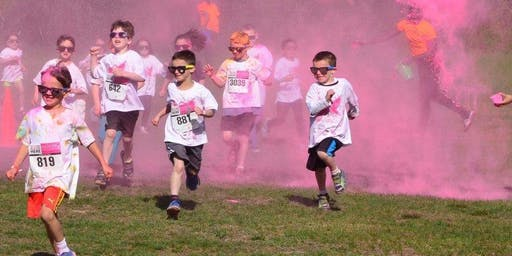 Purple Colour Run for Meningitis