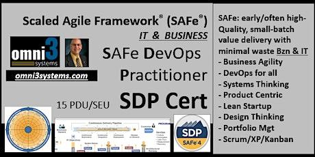 DevOps_SDP-Cert-SAFe-Bloomington-Business-agile-scrum-XP-kanban-product-PMI tickets
