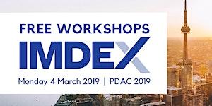IMDEX - Free Workshops at PDAC