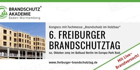6. Freiburger Brandschutztag Tickets