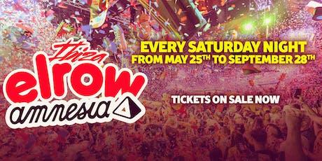 elrow Ibiza 28/9/19 entradas