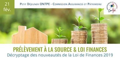 Loi de Finances 2019 - Retenue à la source
