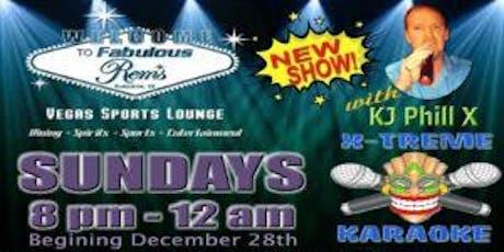 Sunday Karaoke @ Rems Lounge tickets