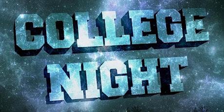 The Best College Night in N. OC! tickets