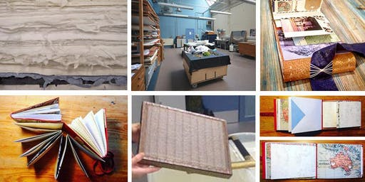 Journeys in Paper & Binding - a travel journal workshop