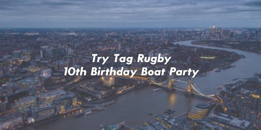 Try Tag Rugby 10th Birthday Boat Party