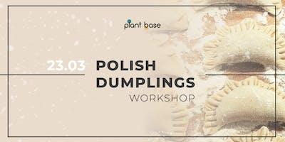 Polish Dumplings Workshop *vegan*