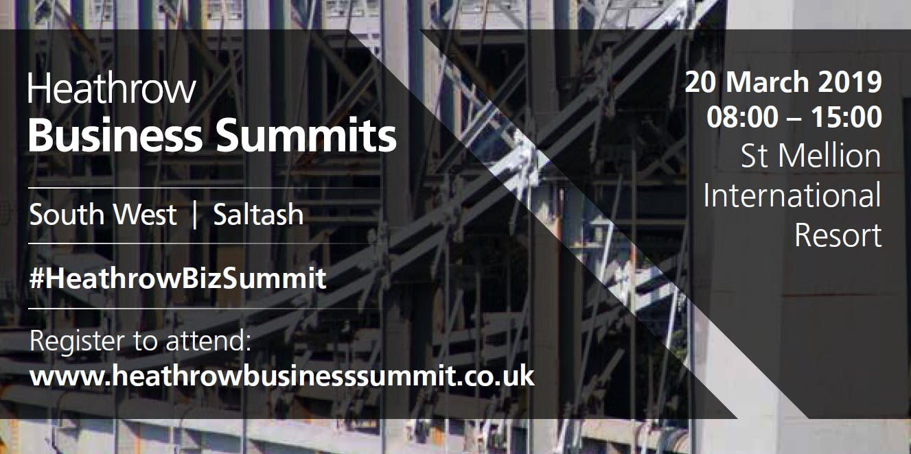 South West Heathrow Business Summit 2019