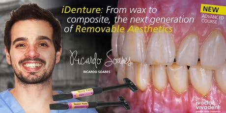 iDenture: From wax to composite. The next generation of removeable aesthetics tickets
