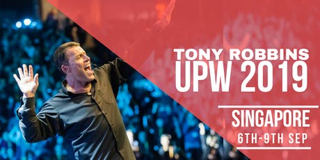Unleash The Power Within Singapore 2019 with Tony Robbins  tickets
