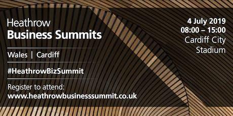 Wales Heathrow Business Summit 2019 tickets