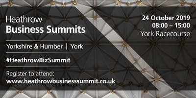 Yorkshire & Humber Heathrow Business Summit 2019