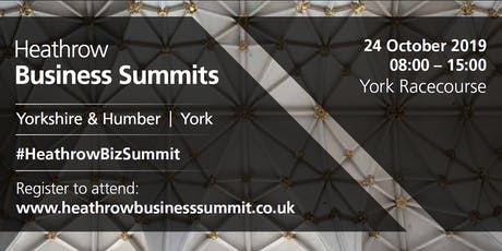 Yorkshire & Humber Heathrow Business Summit 2019 tickets