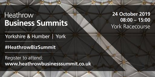 Yorkshire & Humber Heathrow Business Summit 2019