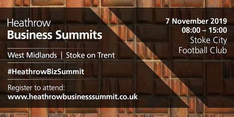 West Midlands Heathrow Business Summit 2019 tickets