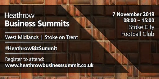 West Midlands Heathrow Business Summit 2019