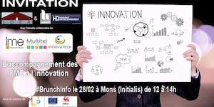 #BrunchInfo : L'accompagnement des PME à l'innovation