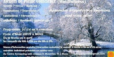 Atelier de Pleine Conscience - Cycle d\