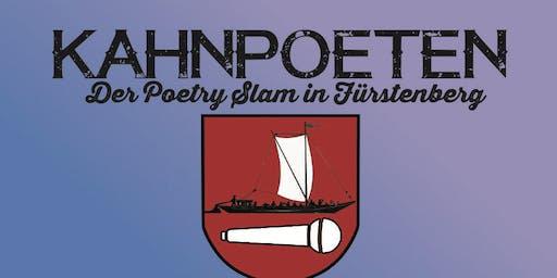 Kahnpoeten: Poetry Slam Fürstenberg | Auf dem See!
