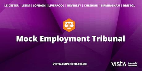Mock Employment Tribunal - Liverpool tickets