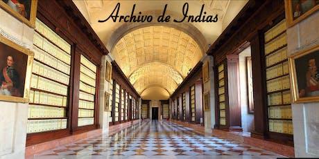 Visita Guiada Archivo de Indias entradas