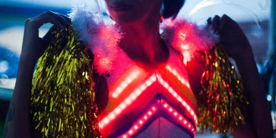 Carnaval com LEDs - oficinas de construção de fantasias