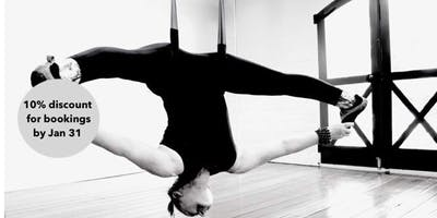 Intro to Aerial Yoga 6 week evening course