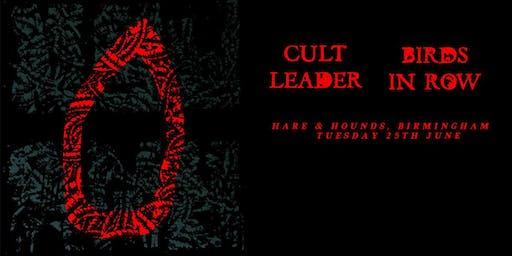 Cult Leader & Birds In Row