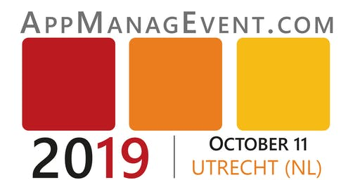 AppManagEvent 2019 at the Jaarbeurs Super Nova Media Plaza Utrecht