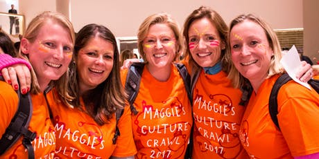 Maggie's Culture Crawl 2019 Scotland Volunteer Form tickets