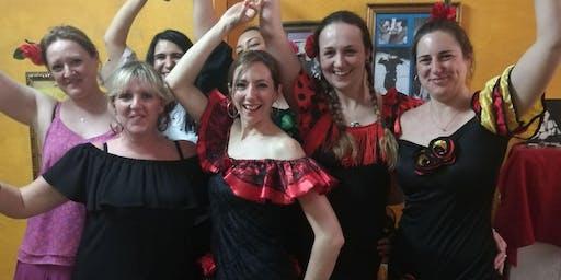 Flamenco dance introduction class